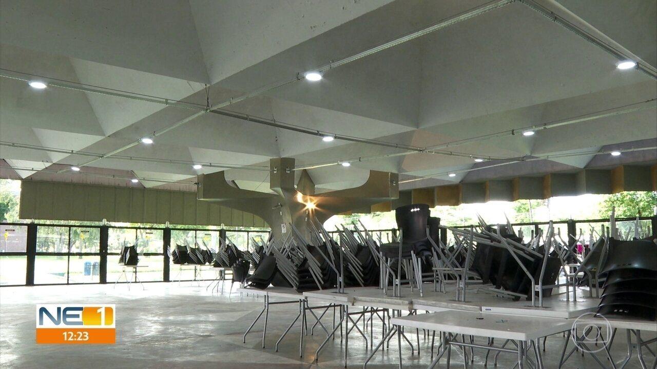 Chuva adia reabertura do restaurante universitário da UFPE