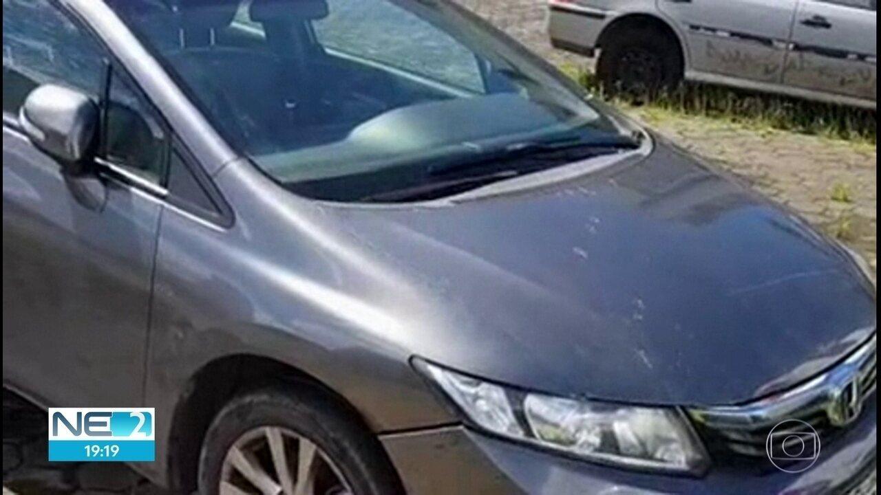 PF apreende no Recife carros que teriam sido comprados num golpe contra o INSS