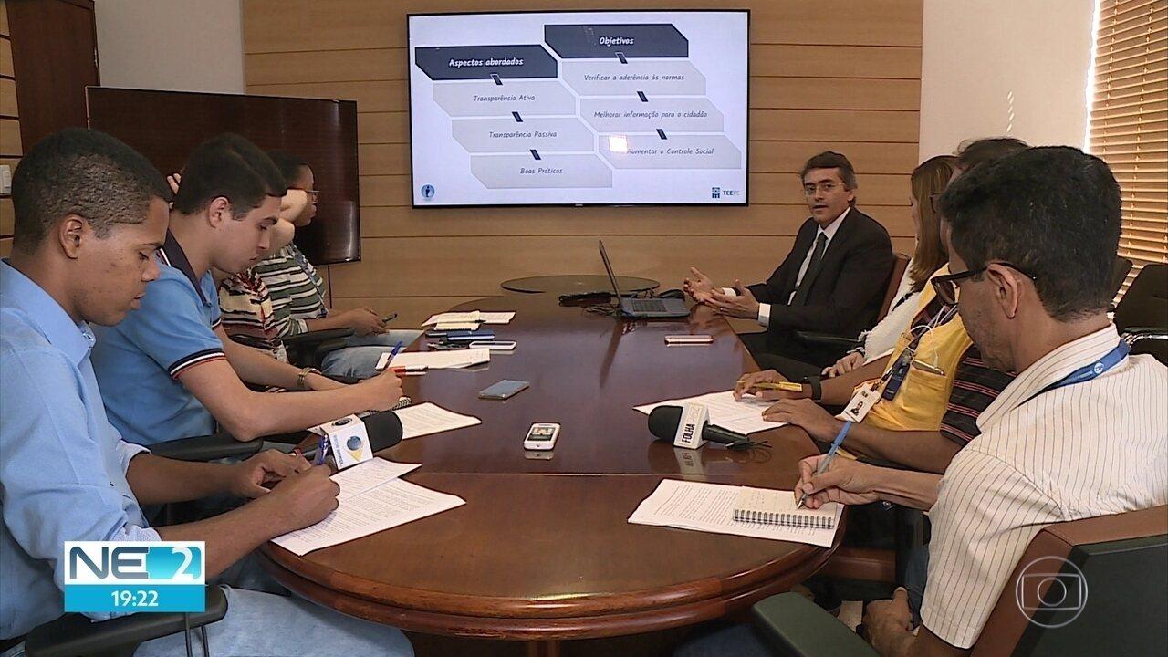 Tribunal de Contas de Pernambuco divulga índice de transparência dos municípios em 2018
