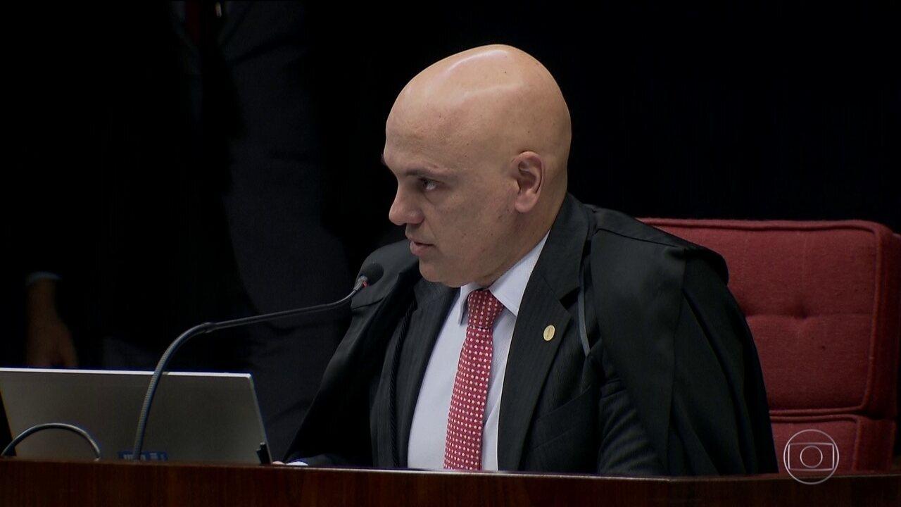 Alexandre de Moraes autoriza busca de arquivos digitais no inquérito que investiga ofensas