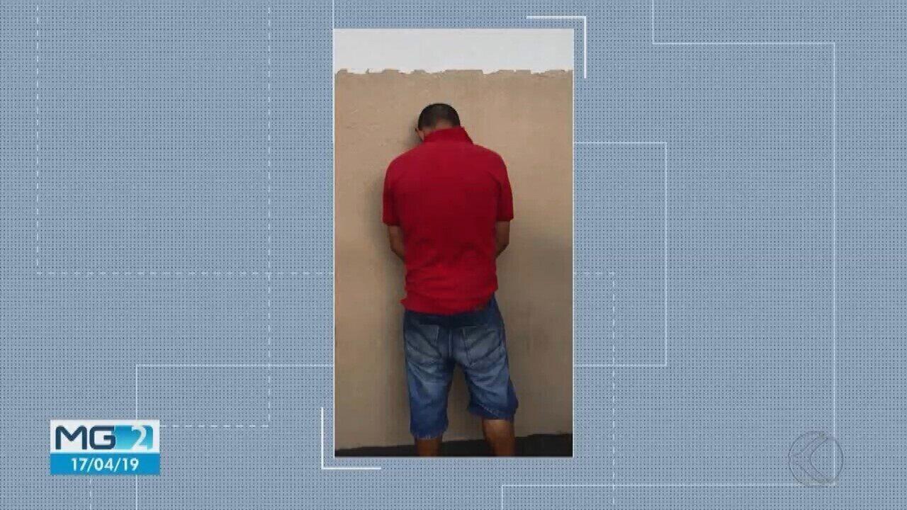 Homem de 37 anos é preso em Uberlândia acusado de espancar a esposa por 20 anos