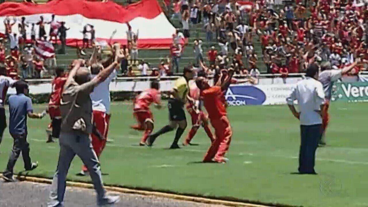 """""""TBT do GE"""" relembra clássicos entre Uberlândia e Uberaba Sport antes de rodada decisiva"""