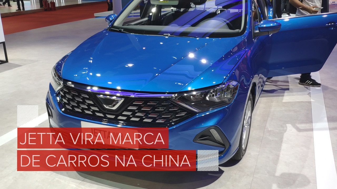 Jetta, da Volkswagen, vira marca de carro na China