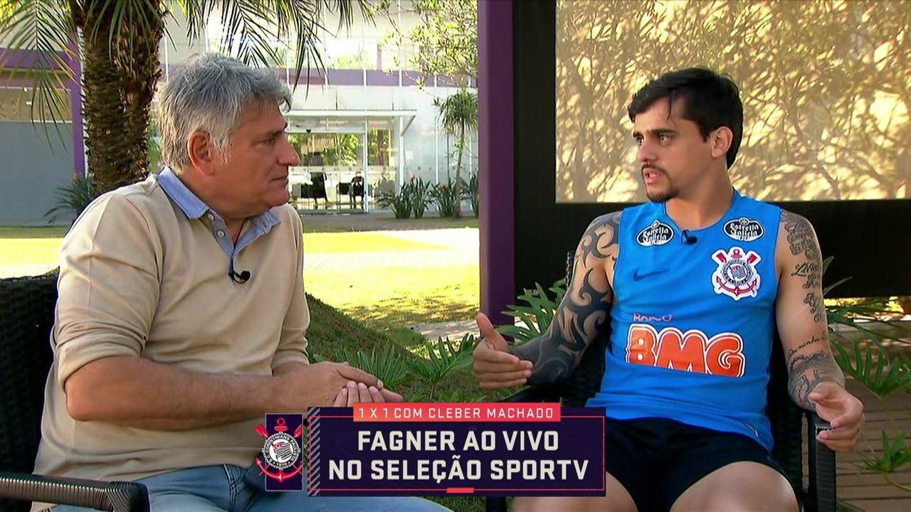 Em entrevista com Cléber Machado Fagner afirma que não tem nada contra o VAR