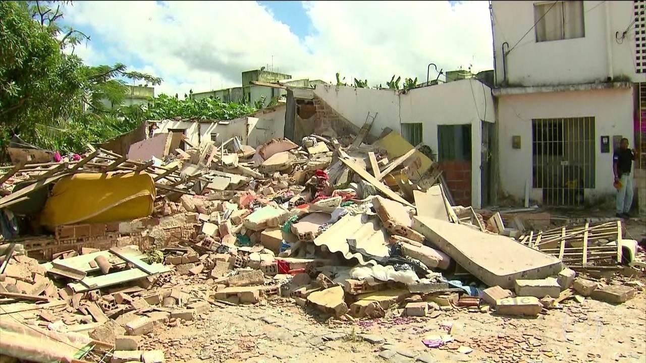 Explosão por vazamento de gás deixa duas pessoas mortes no Recife