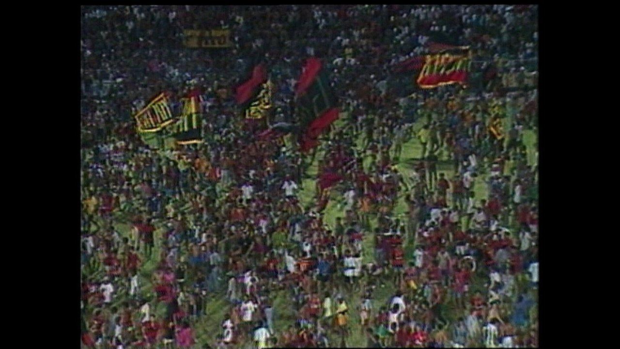 Sport ganha do Náutico por 3 a 0 e é campeão de 1991