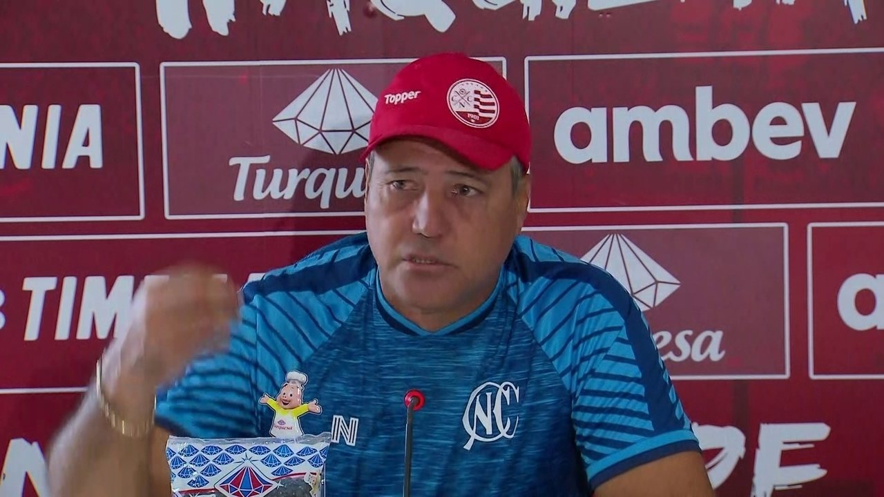 Márcio Goiano cobra Luiz Henrique no Náutico
