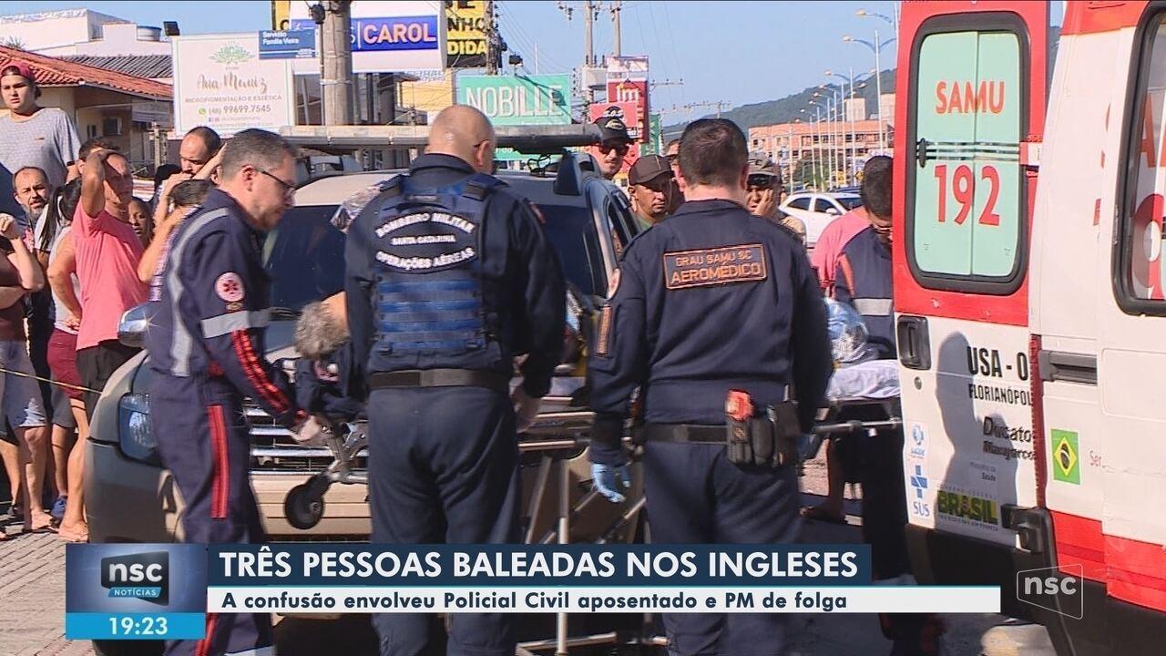 Policial civil aposentado e PM em folga trocam tiros em Florianópolis
