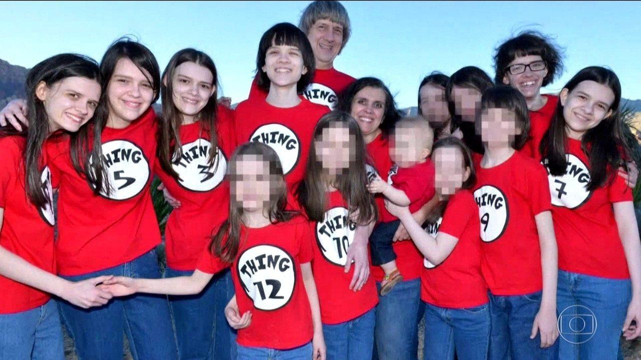 Casal americano que manteve filhos em cativeiro é condenado à prisão perpétua