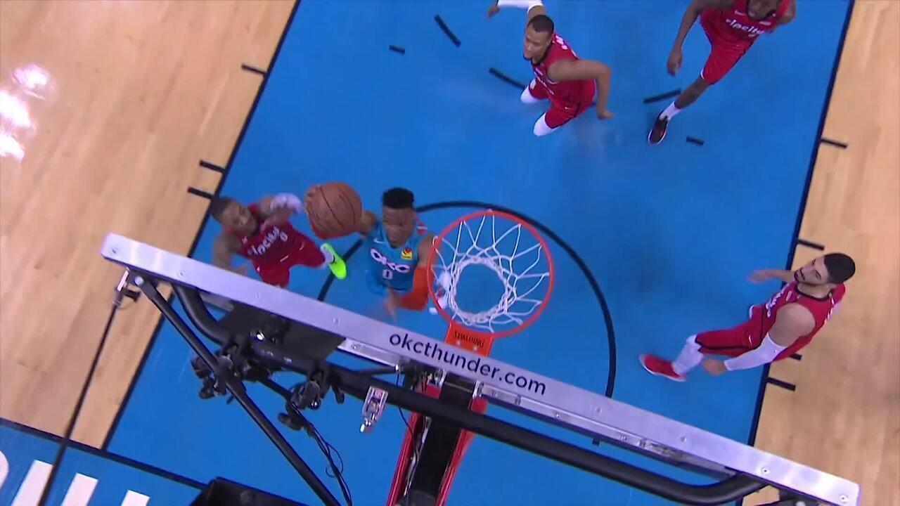 Confira o Top 5 da noite de sexta-feira pela NBA
