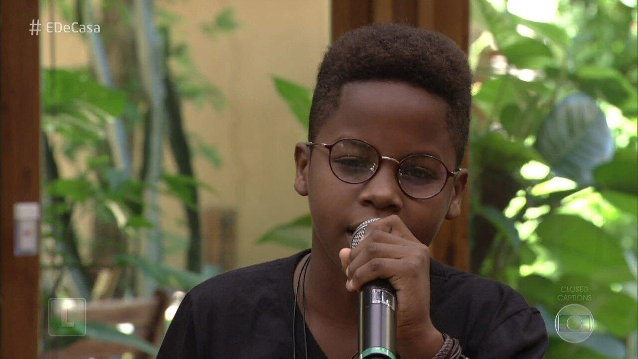 Jeremias Reis canta 'Tudo que Você Quiser'