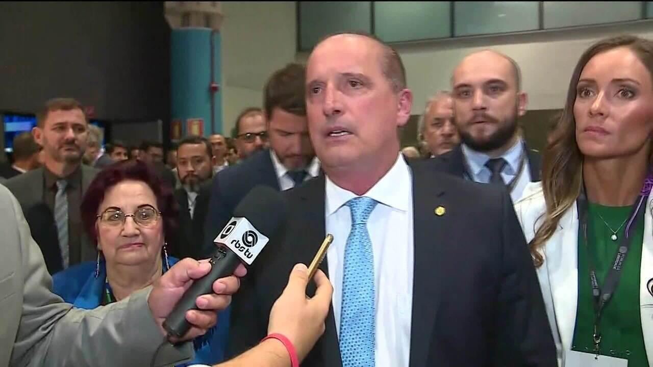 """Onyx diz a caminhoneiros que governo deu """"trava na Petrobras"""""""