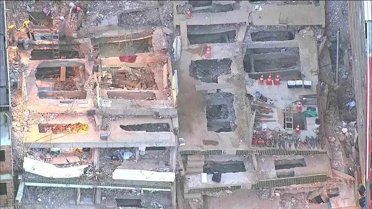 Polícia segue em busca de três suspeitos responsáveis por prédios de desabaram na Muzema