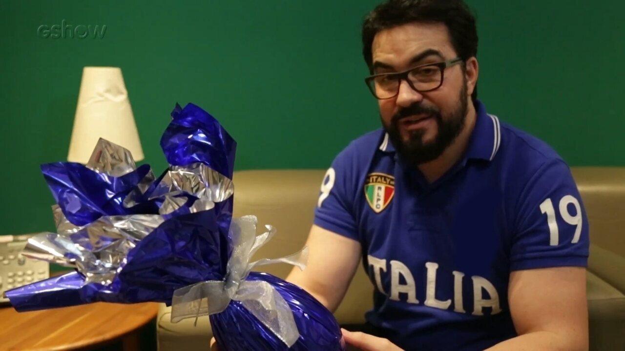 Pe. Fábio de Melo deseja uma Feliz Páscoa para o Brasil!