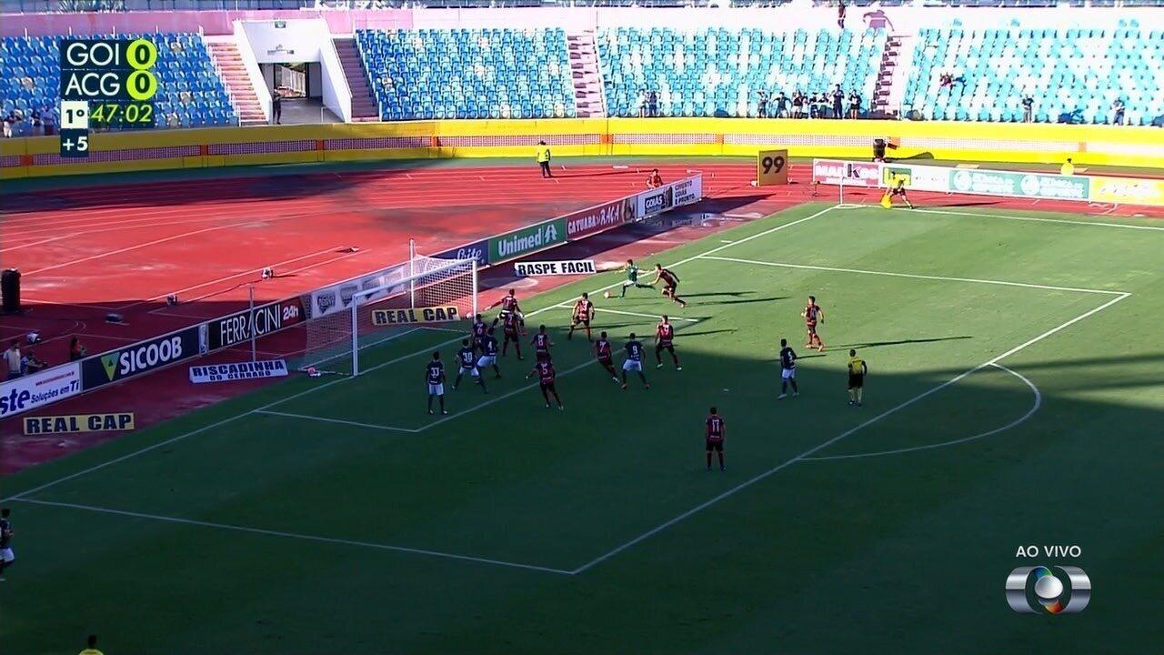 Melhores momentos entre Goiás 0 x 1 Atlético-GO