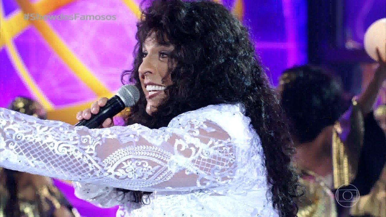 Ceará homenageia Simone no 'Show dos Famosos'