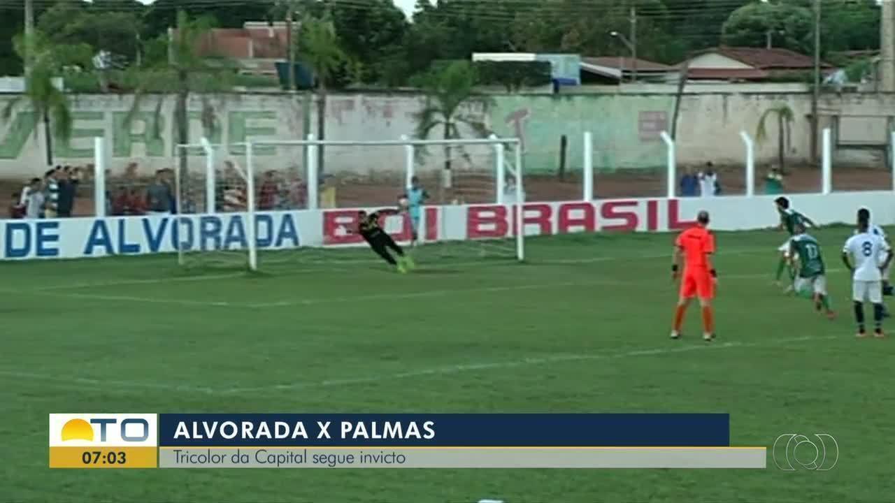 Palmas vence o Alvorada e segue invicto no Tocantinense