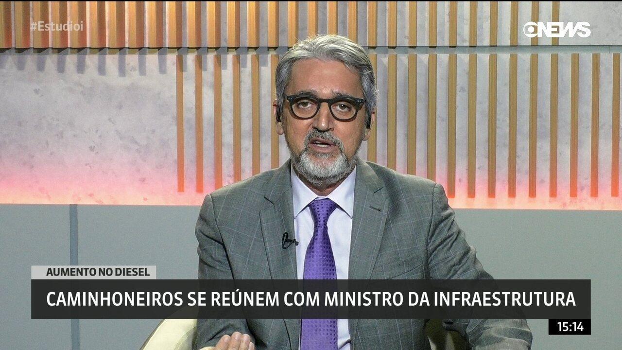 Valdo Cruz: 'Governo sinaliza que continua disposto a negociar com caminhoneiros'