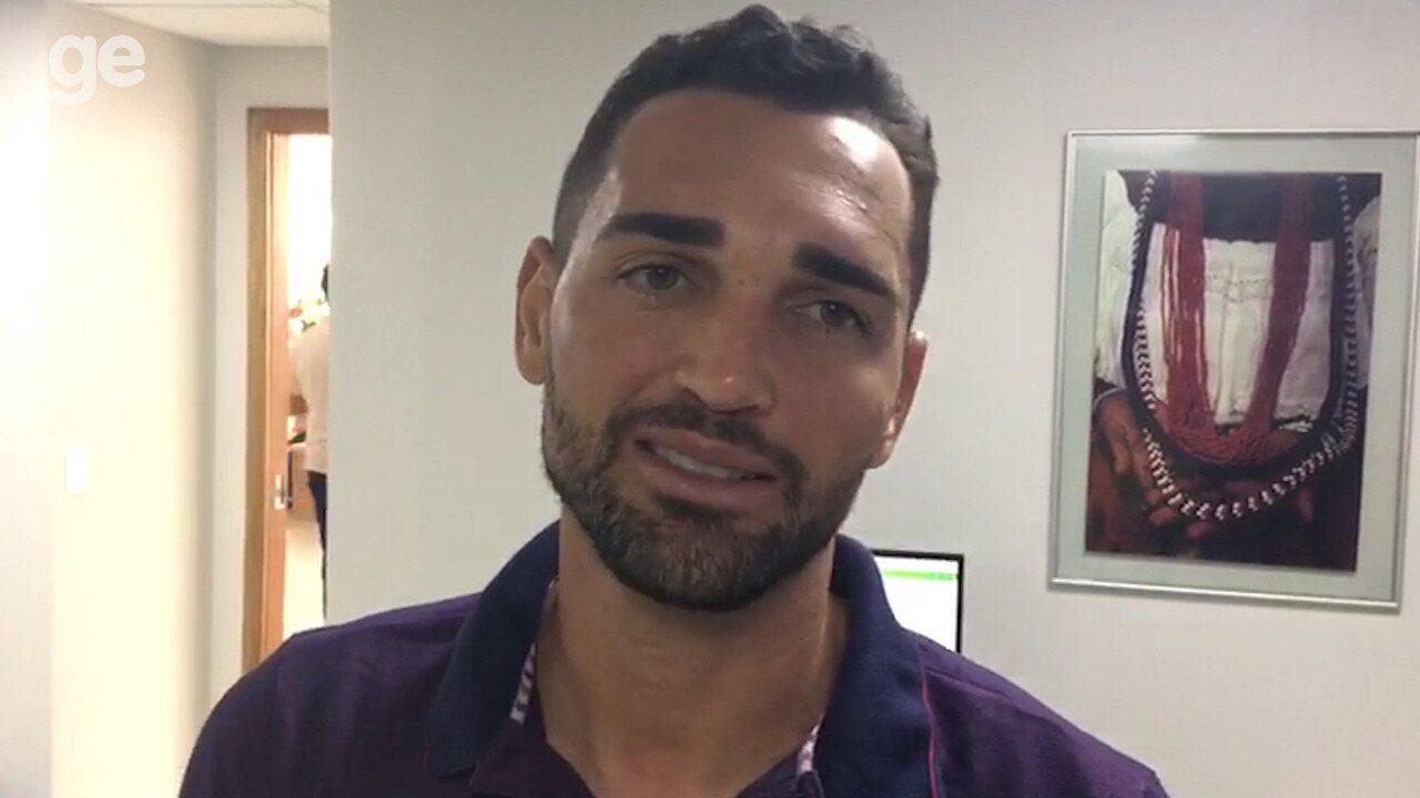 Gilberto comenta sobre a participação dentro do aplicativo Cartola FC