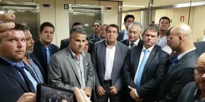 Ministro da Infraestrutura, Tarcísio Freitas, anuncia