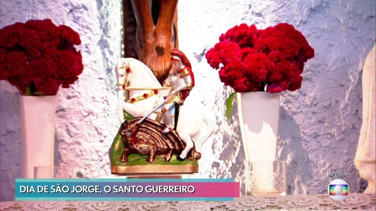Dia 23 de abril é o dia de São Jorge