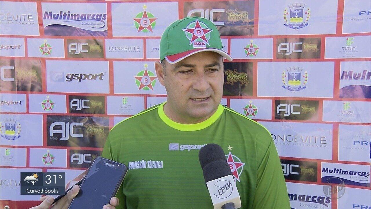 Paulo Foiani é apresentado como técnico do Boa Esporte