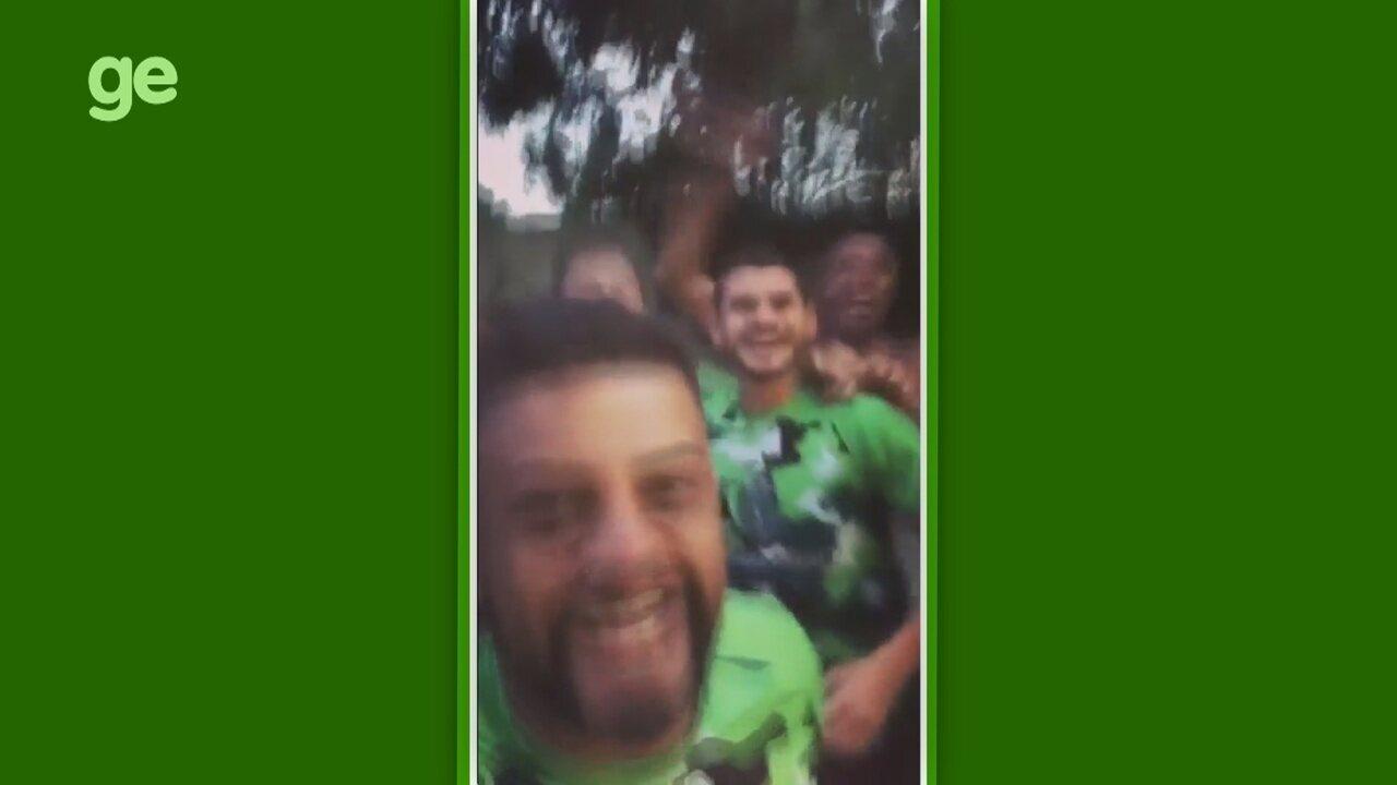 """Jogadores do Manaus provocam Naça após TJD manter título: """"E ninguém cala esse chororô"""""""