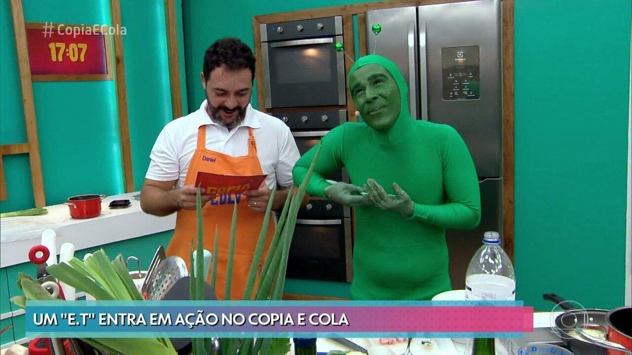 Participantes enfrentam terceiro dia de competição no 'Copia e Cola'