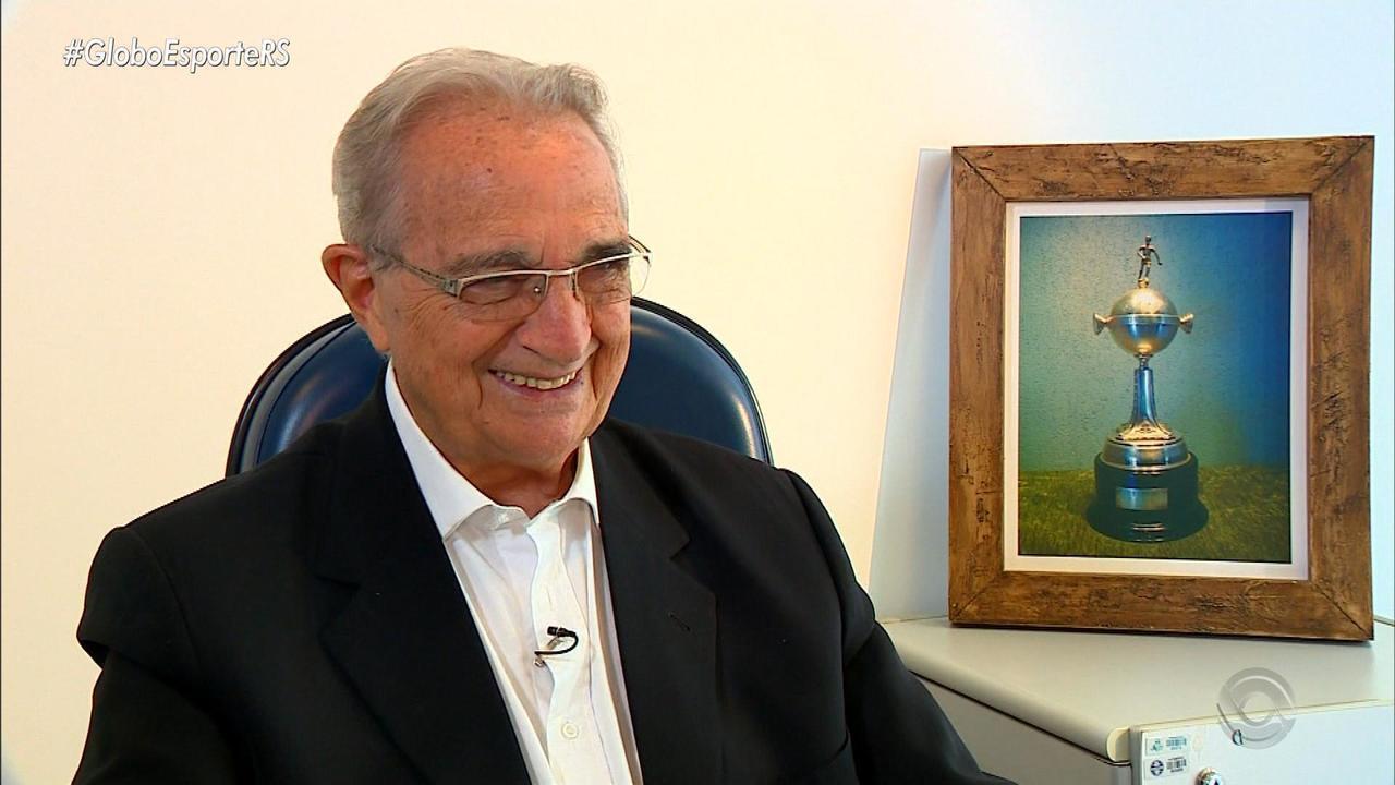 Antônio Carlos Verardi, funcionário mais antigo do Grêmio, morre aos 84 anos