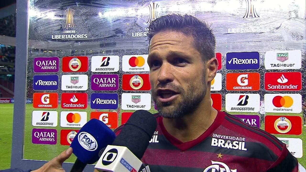 """Diego admite que Flamengo não fez um bom jogo: """"Poderíamos ter feito muito melhor hoje"""""""