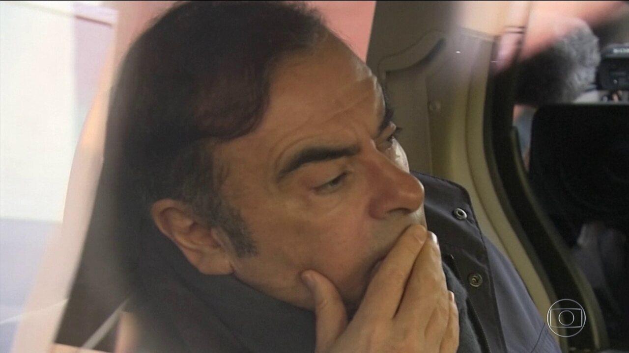 Carlos Ghosn pode sair da prisão a qualquer momento