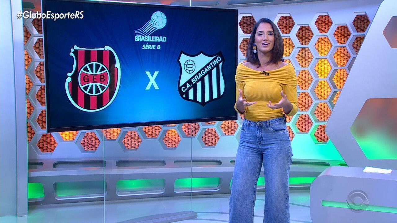 Pela Série B Do Brasileirão Brasil De Pelotas Enfrenta O Bragantino No Bento Freitas