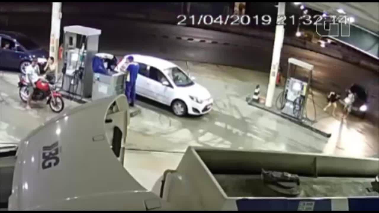 Vídeo mostra momento em que motorista de aplicativo atropela lutador no Pará