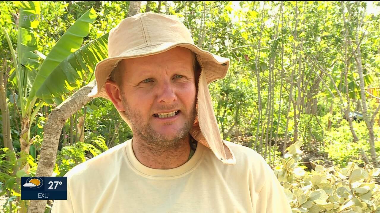 Agricultor agroflorestal transforma área degradada no Sertão de PE em reserva ecológica