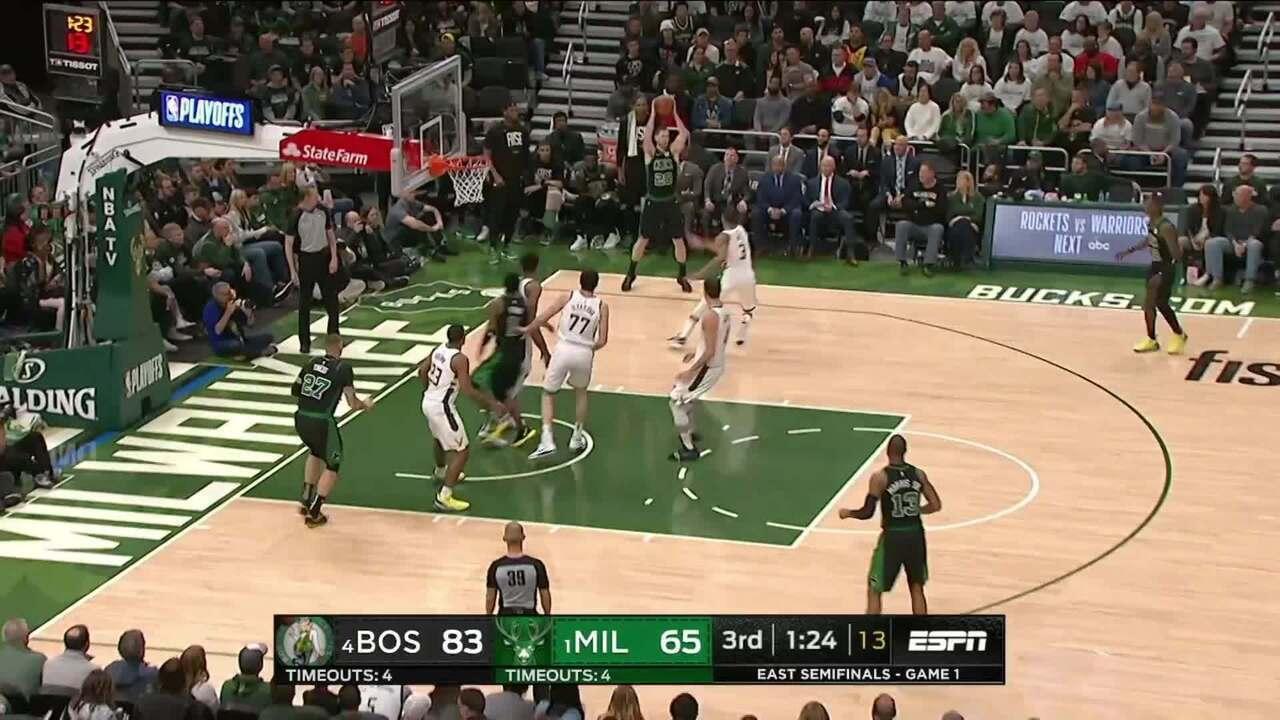 Melhores momentos: Boston Celtics 112 x 90 Milwaukee Bucks pela NBA