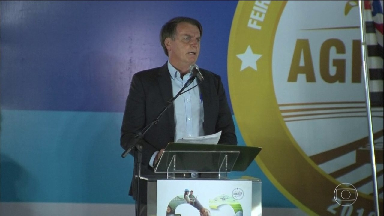 Em encontro com ruralistas, Bolsonaro diz querer facilitar a fiscalização para produtores
