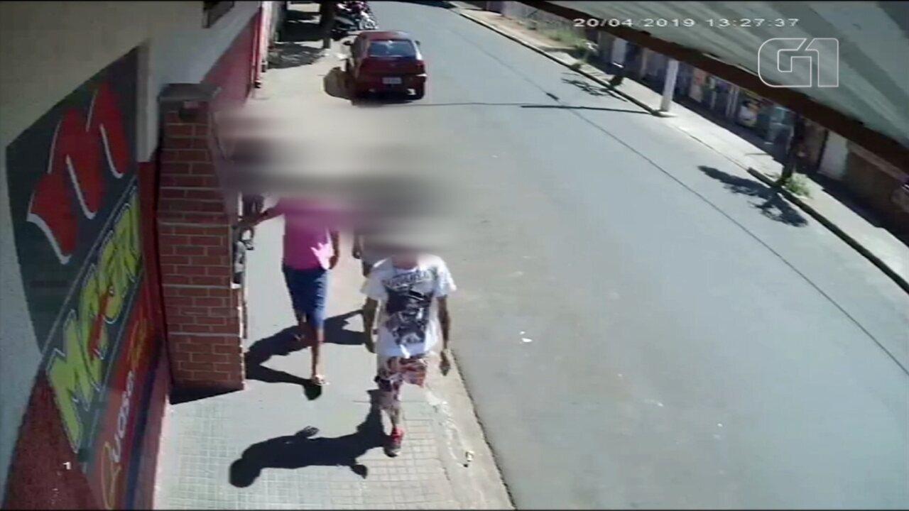 Vídeo mostra grupo que matou taxista em Bálsamo antes de cometer o crime
