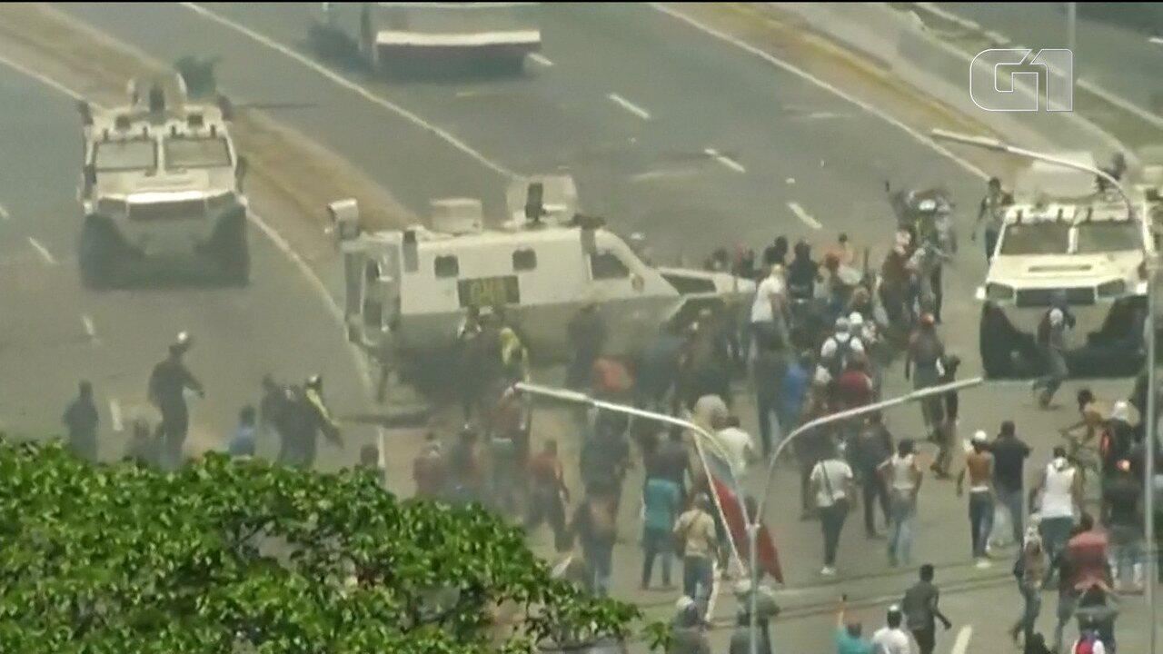 Vídeo resume o que aconteceu hoje na Venezuela