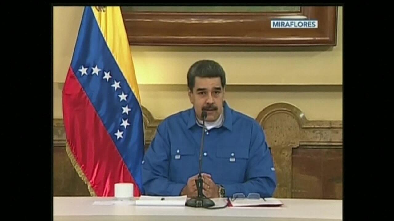 'Saímos vitoriosos', diz Maduro em pronunciamento após protestos na Venezuela