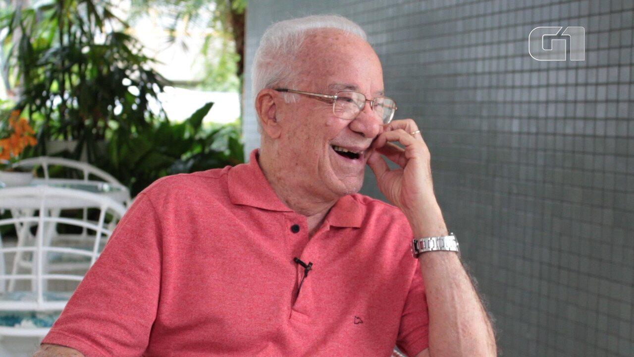 Dentista idoso fala sobre vida e carreira: 'você só aprende a viver com 92 anos'