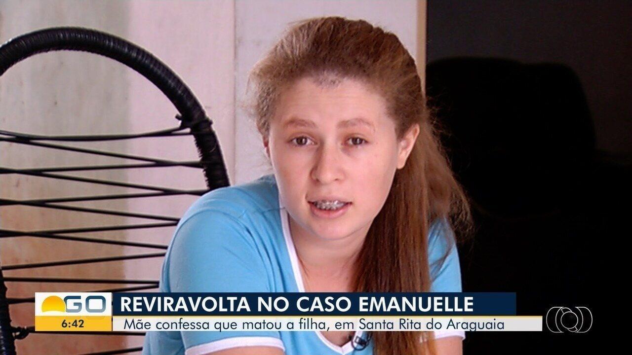 Após reviravolta, mãe é indiciada por matar a filha em Santa Rita do Araguaia