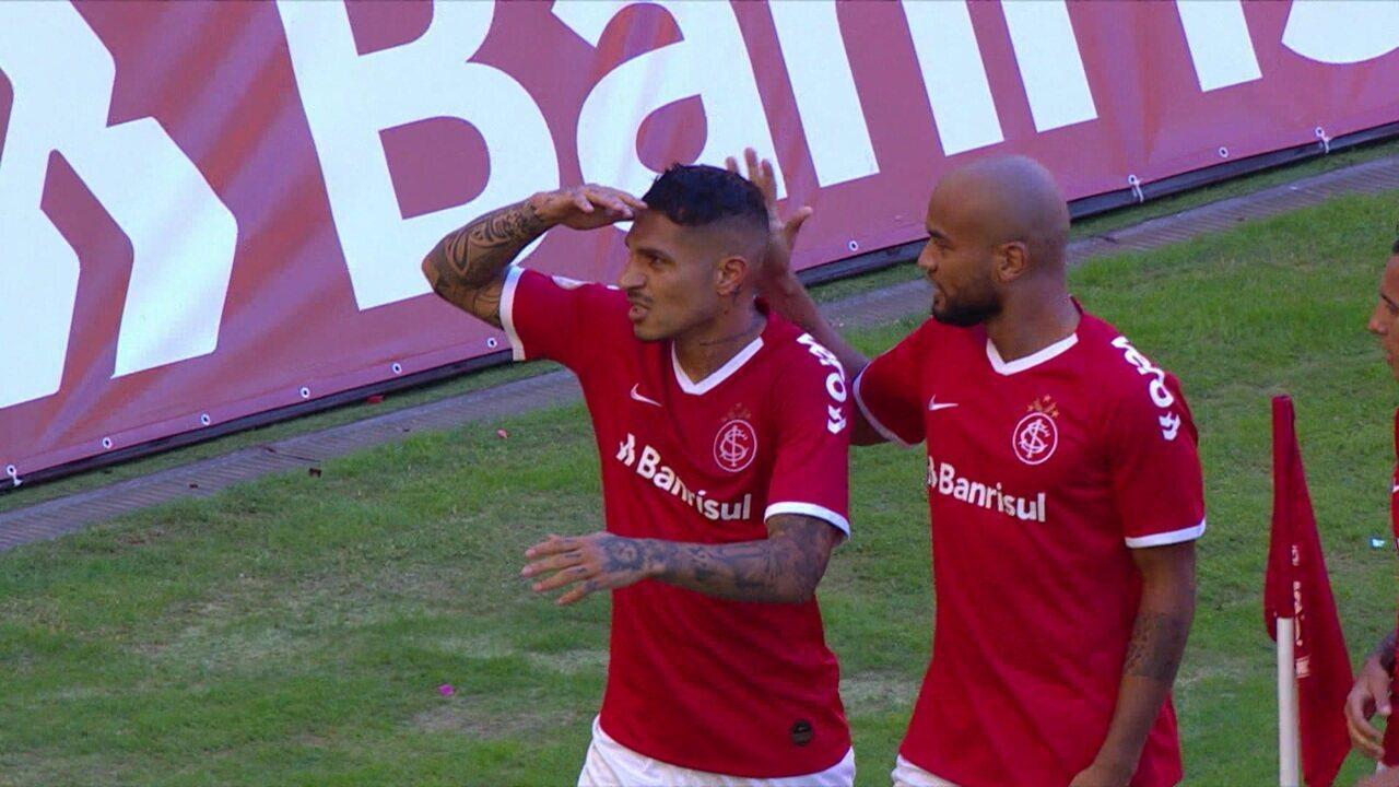 Guerrero abriu caminho da vitória sobre o Flamengo no inicio do Brasileirão