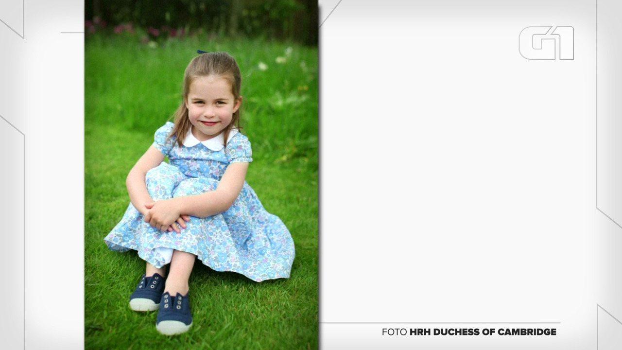 Princesa Charlotte comemora 4º aniversário nesta quinta