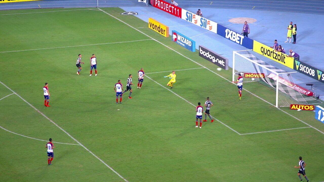 Melhores momentos: Botafogo 3 x 2 Bahia pelo Campeonato Brasileiro 2019