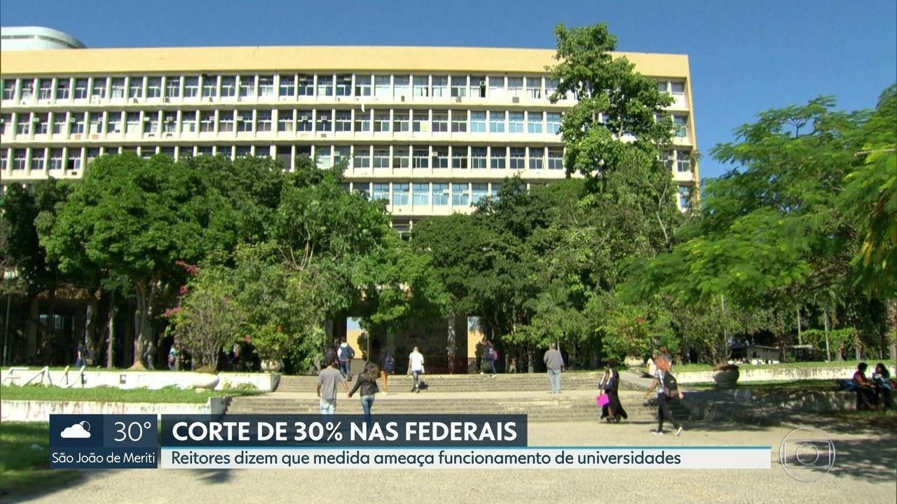 Instituições federais de ensino do Rio se posicionam contra o corte de 30% nas verbas
