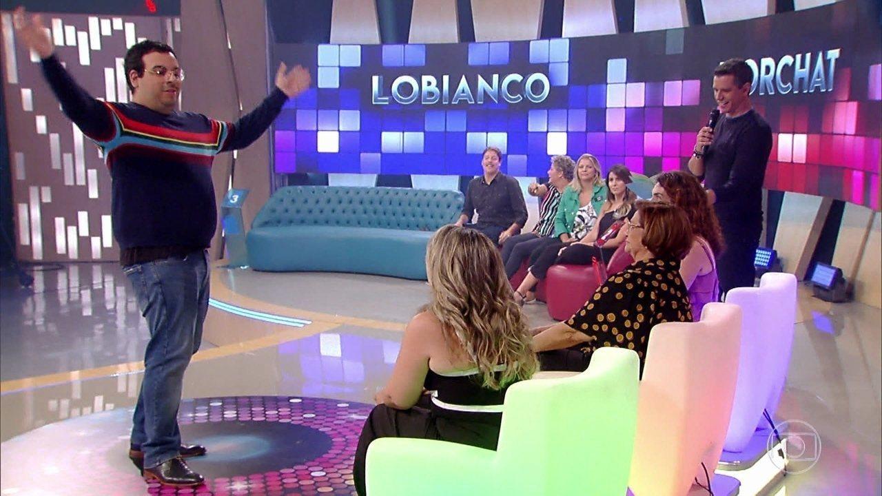 Luís Lobianco e Fábio Porchat disputam duelo de mímicas
