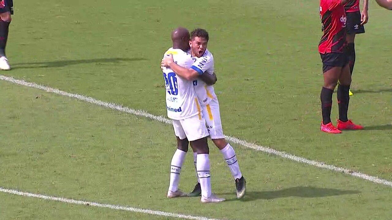 Os gols de Chapecoense 1 x 1 Athletico-PR pela 3ª rodada do Brasileirão