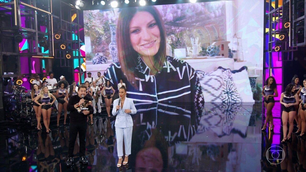Laura Pausini pede sua música favorita a Ivete Sangalo