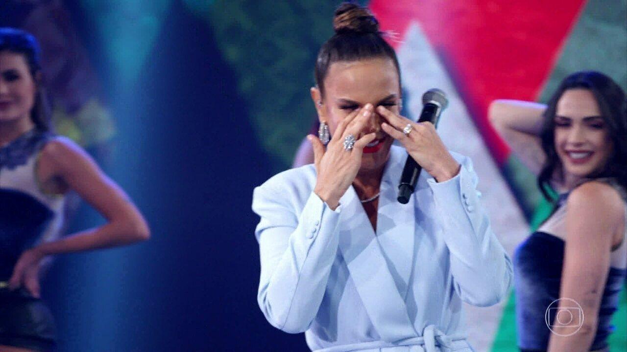 Ivete Sangalo canta 'Meu Maior Presente'