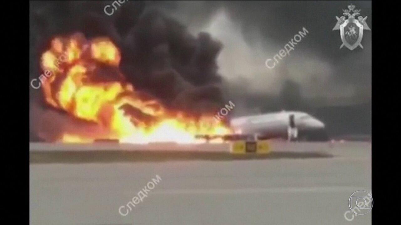 Investigadores encontram caixas-pretas do avião russo que deixou 41 mortos